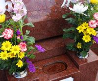 お供え物のお花